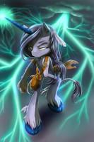 Tempest the Unicorn by KissTheThunder