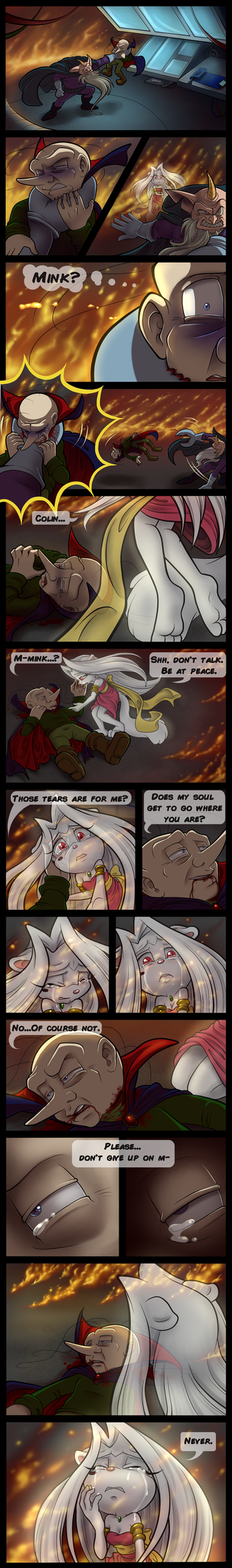 Don't Give Up On Me by KissTheThunder