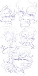 Princess Sally Doodles by KissTheThunder