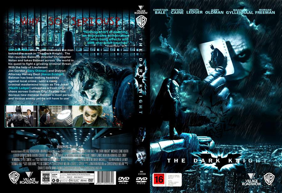 The Dark Knight DVD Cover by k26egciv on DeviantArt