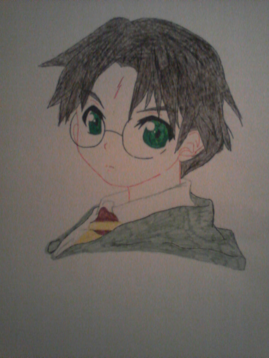 Harry Potter - Dibujo para cole by MimiCuteGirl on DeviantArt