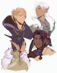 dragon age 2 companion redesigns