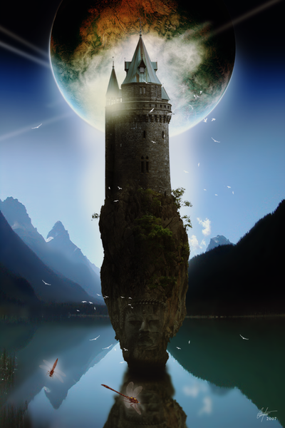 fantasy art wizard castle - photo #36