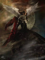 Angel Up On High
