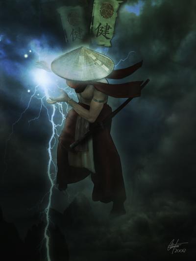 Johnny Shiba  Done ! Lightning_God_by_Alegion