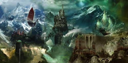 The Wind Kingdoms by Alegion