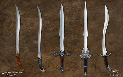 Weapons Concepts 2 by Alegion