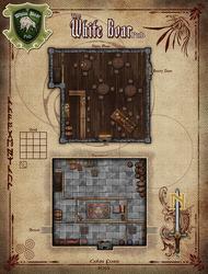 The White Boar Pub RPG Map by Alegion
