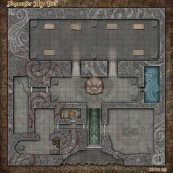 RPG Encounters Map - Cult by Alegion