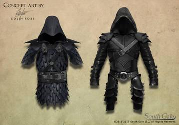 Game armor concept 1 by Alegion