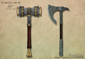 Game Concept Weapons 1