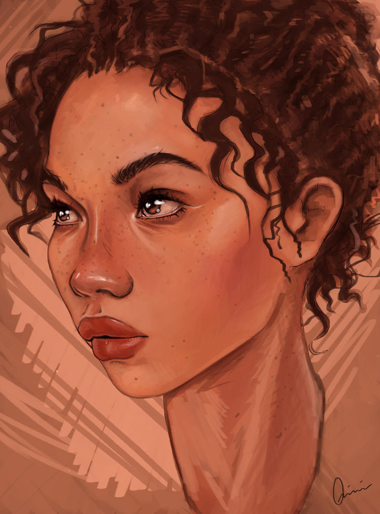 Curly by Quinfu