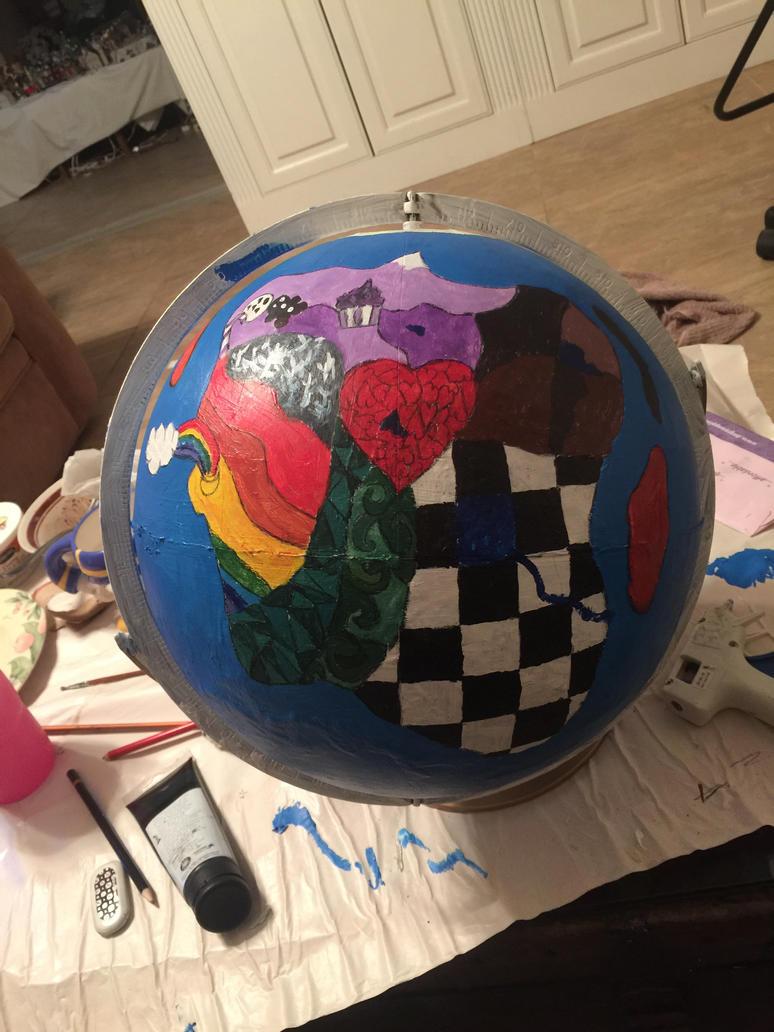 In Progress Creaturiea Globe: Heartland by goodluckrubberduck