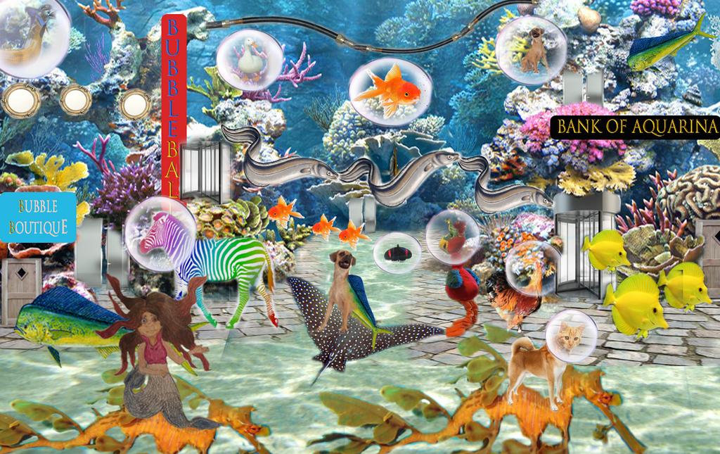 Aquarina City by goodluckrubberduck