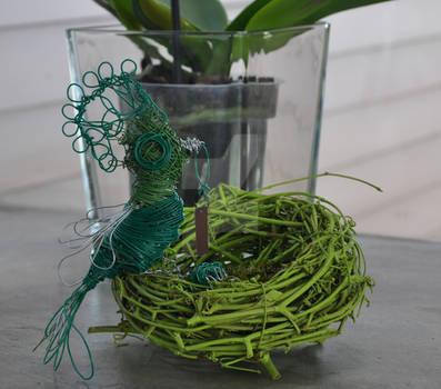 'Minnie', the Wire Bird