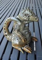 'Frank', the Metallic Lizard