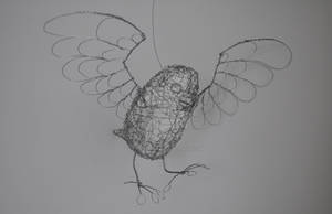 'Henrik', the Wire Owl