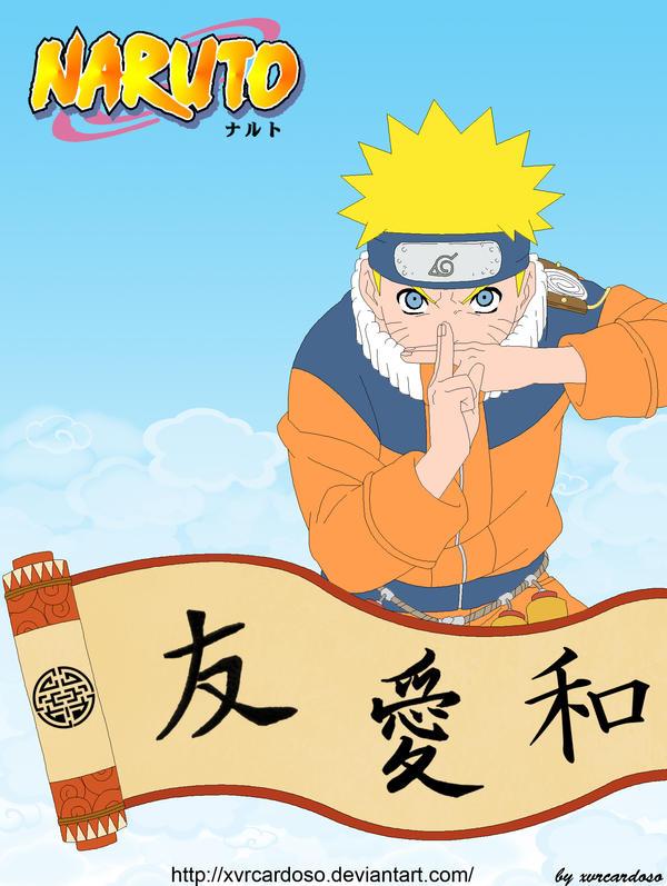 Naruto by xvrcardoso