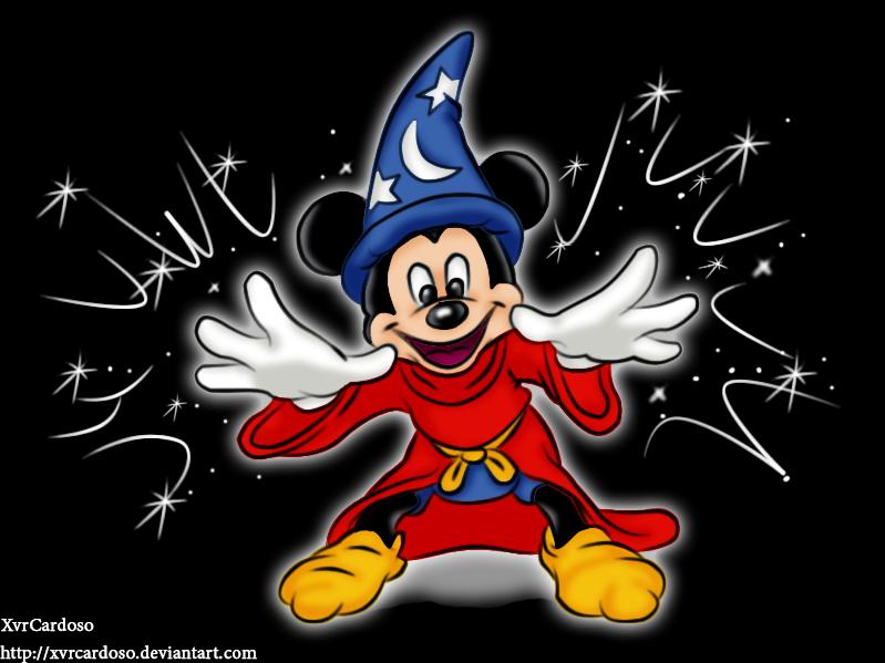 Mickey Mouse Fantasia Hat Cake