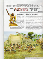 WAB: Aztec Army list by RazaDecon