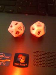 Mayan Number dice 2