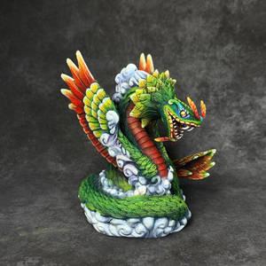 Quatzalcoatl, the Great Feathered Serpent