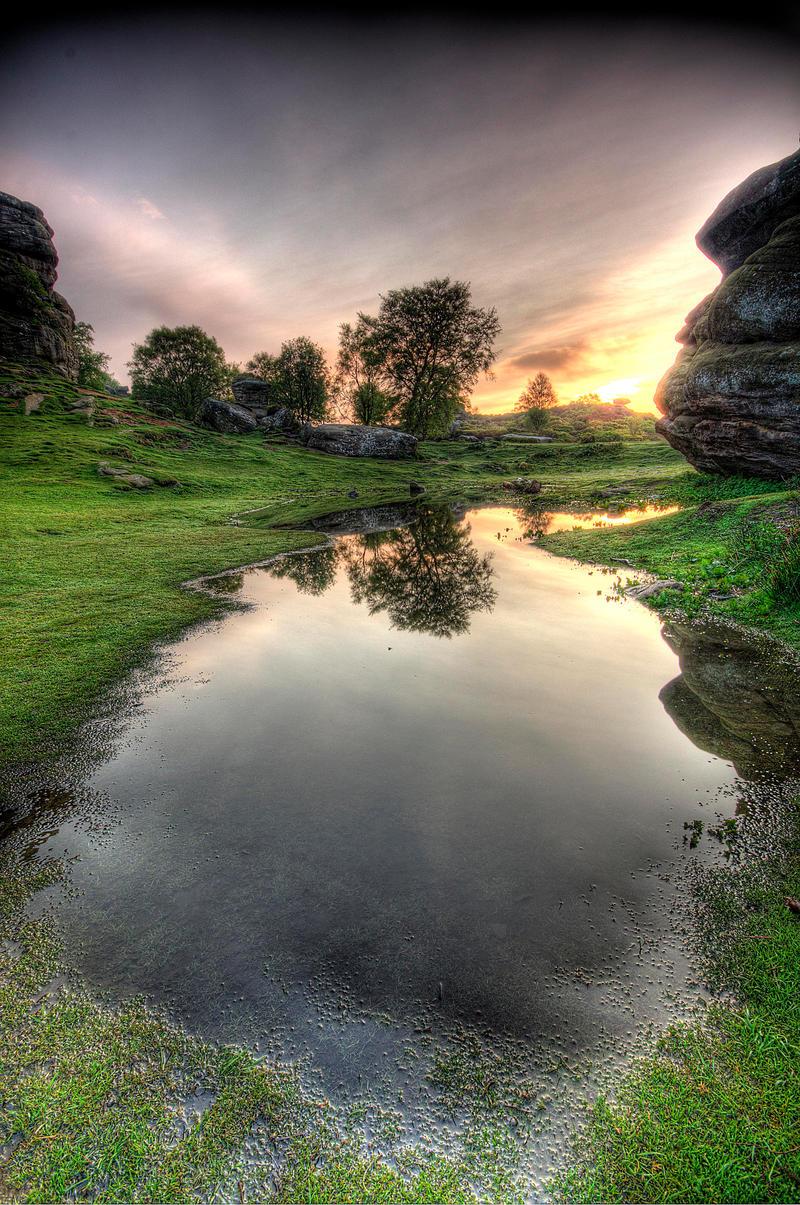 Brimham Sunrise by taffmeister