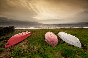 Skipness Boats by taffmeister
