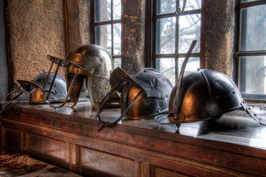 For Roundhead's Heads by taffmeister