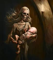 Dead Guardian of Sleep by TeroPorthan