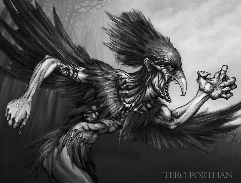 Lord of the Ravens Lempo by TeroPorthan