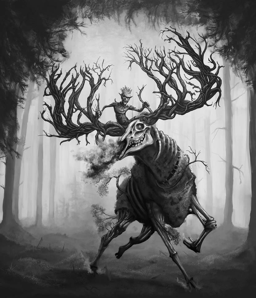 Goblin's Elk (Hiiden hirvi)