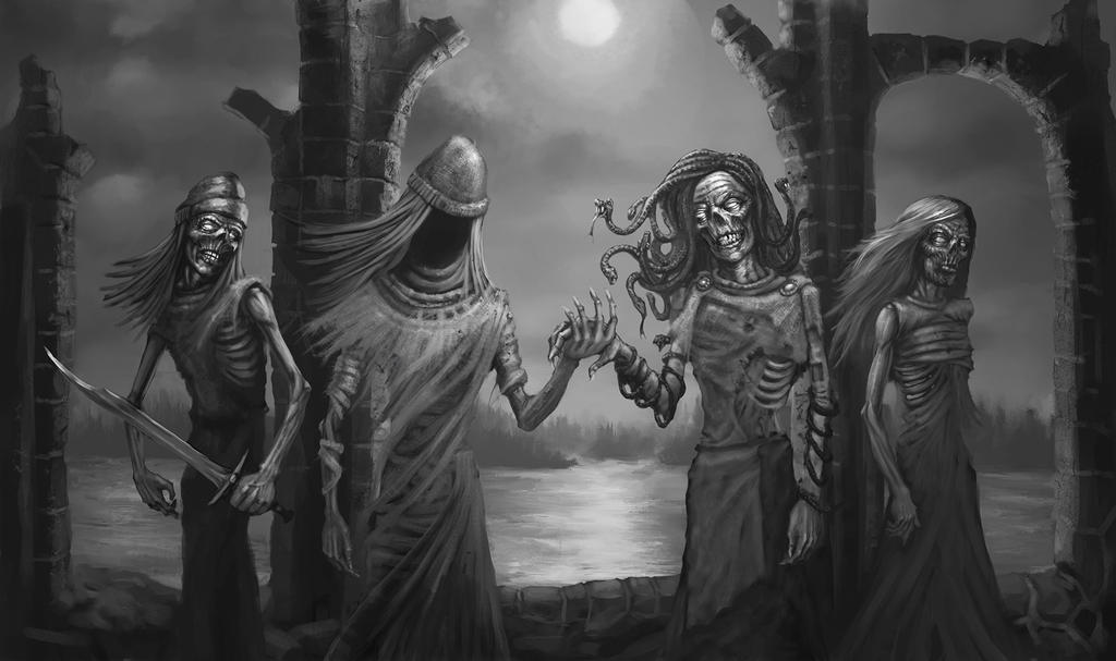 The Family of Death by TeroPorthan