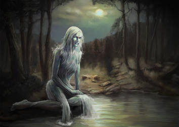 Maiden of the Pond by TeroPorthan