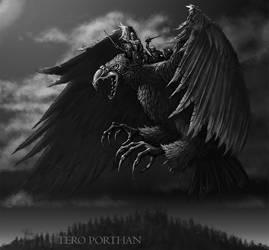The Lapp Eagle (Lapin kokko) by TeroPorthan
