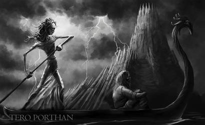 Daughter of Death, Tuonen tytti by TeroPorthan