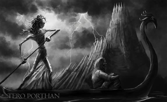 Daughter of Death, Tuonen tytti