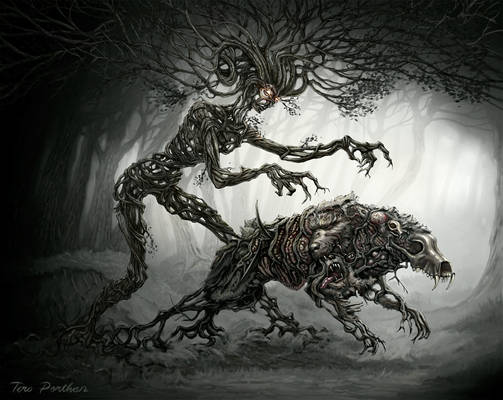 Forest Spirit Sends Disease Creature