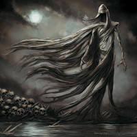 Tuoni, Death, from Tuonela Deadland