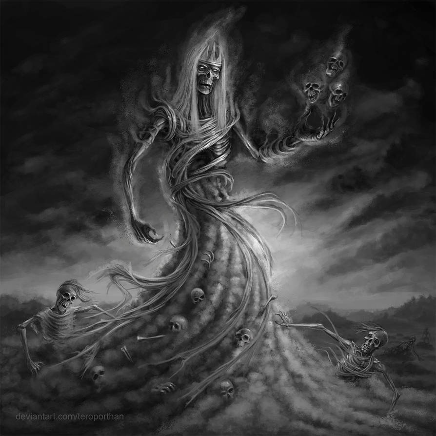 Kalma, Ruler of Graveyards
