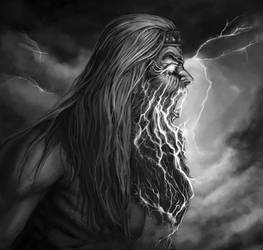 Ukko God of Thunder