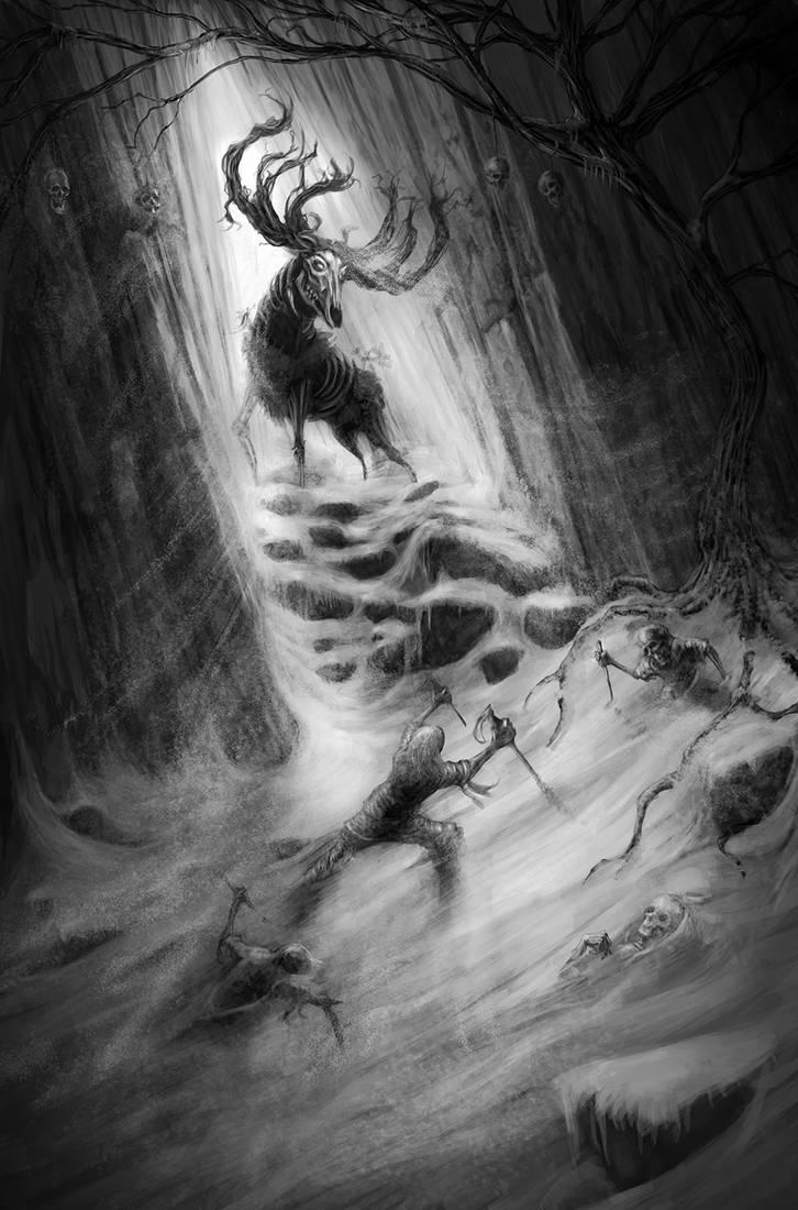 Hiiden hirvi Goblin's Elk Escape