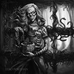 Tuonetar Lady of Death by TeroPorthan