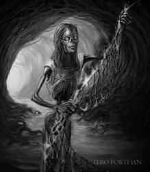 Weaver of Tuonela Nets of Death by TeroPorthan