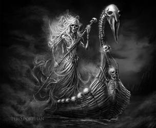 Tuonen Tytti, Daughter of Death by TeroPorthan