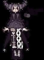 GLOWN (goth clown)