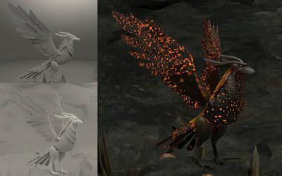 Fire Eagle By Abizar Sabuwala by ABIFRIEND