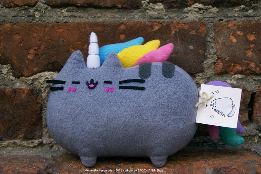 Pusheen Unicorn by MegumiRe
