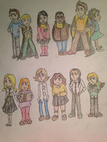 Hufflepuff Classmates by DidxSomeonexSayxMad