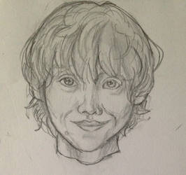 Ron Weasley by DidxSomeonexSayxMad